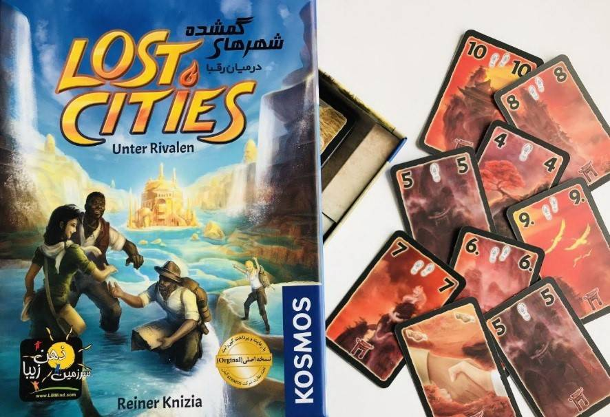 lost cities cover and card